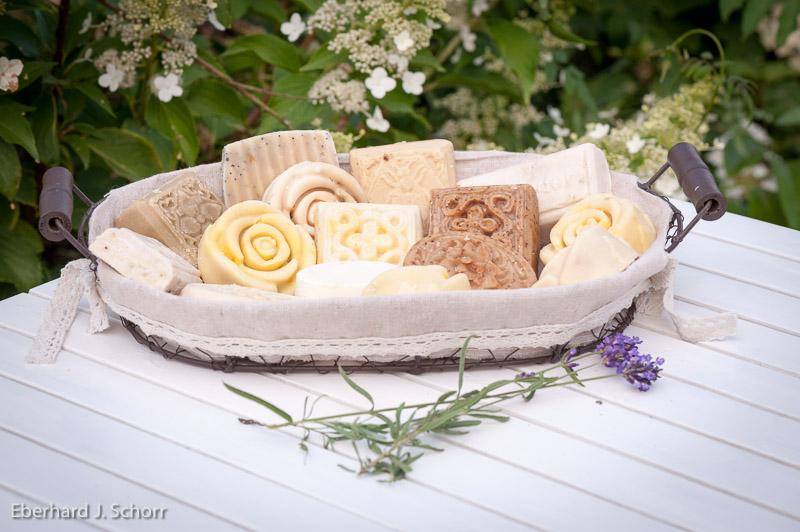 Seife aus Ziegenmilch – Foto Eberhard J. Schorr