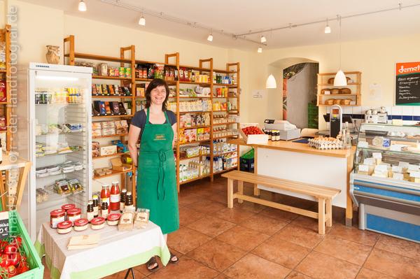 Carina Philipp ist Inhaberin des Hofladen vom Landgut Pretschen