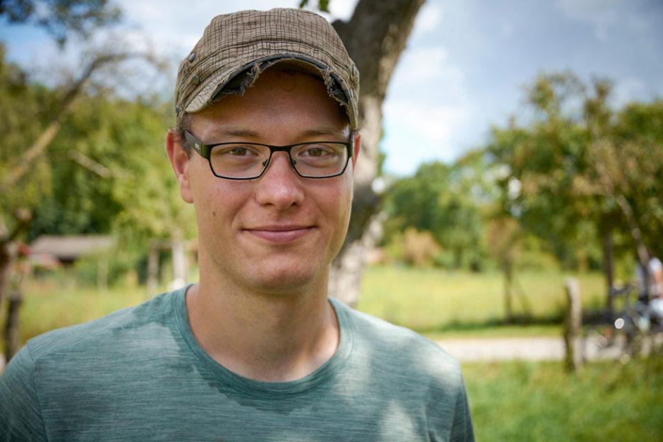 Portrait von Tobias Schlufter, Mitglied von der Solawi Speisegut