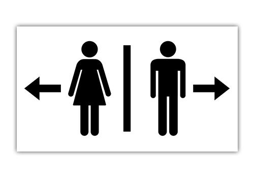Icon WC für Damen und Herren